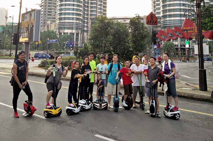 KL City Eco Ride (KL Car Free Morning)