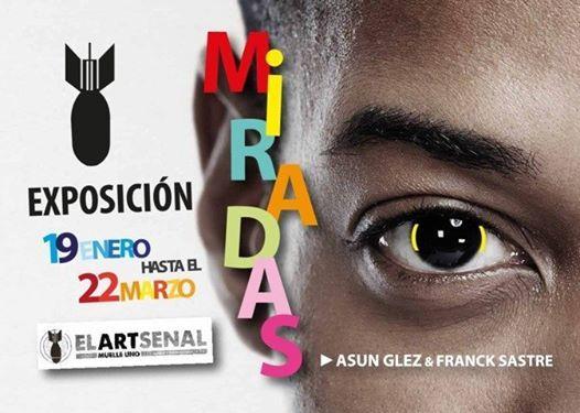 Expo Asun Gzlez & Franck Sastre miradas Mlaga