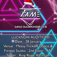 Fame Dance Championship 2018 Lucknow Audition- Suresh Mukund
