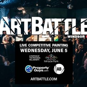 Art Battle Windsor - June 5 2019