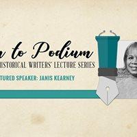Pen to Podium Janis Kearney