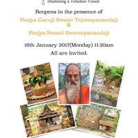 Re-opening of Chinmaya Pradeep