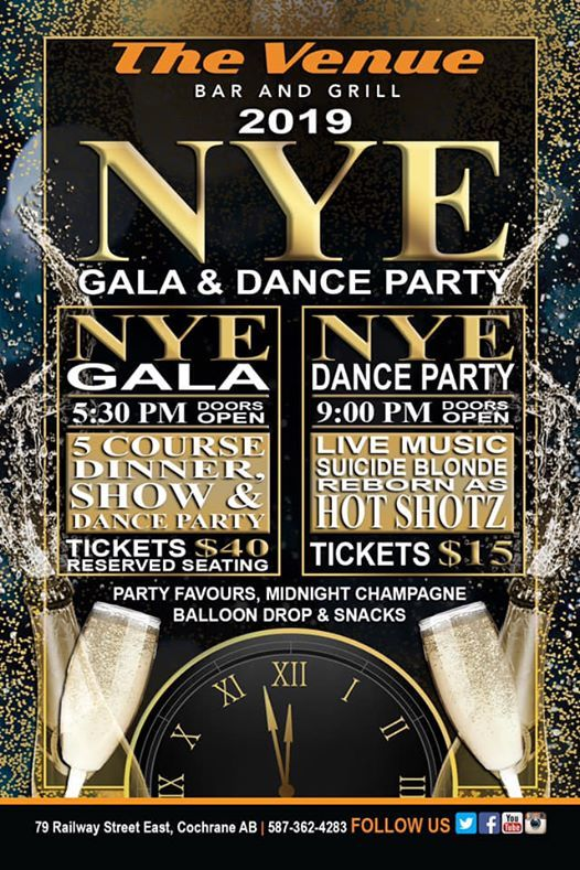 New Years Eve Gala  Dance Party