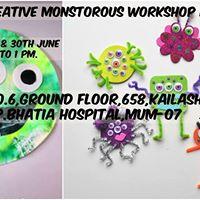 Monstrous Workshop for Kids.