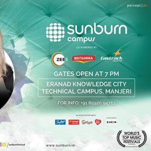 Sunburn Campus with Siana Catherine