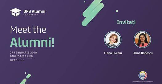 Meet the Alumni - Ediia 2
