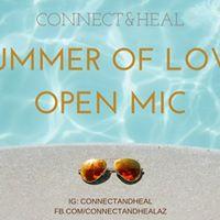 Summer of Love Poetry Open Mic