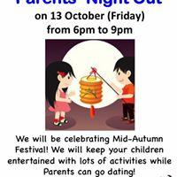 My Gym  Buona Vista presents... Parents Night Out - Mid Autumn Festival