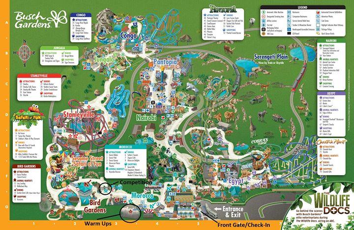FLCC Annual Winter Safari - Our 19th! at Busch Gardens Tampa, Tampa