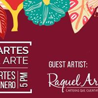 Martes de Arte - Raquel Arana