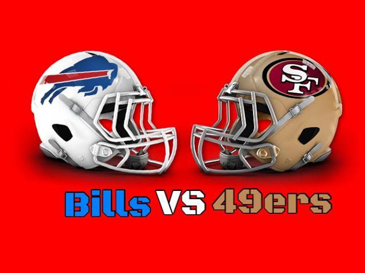 Image result for San Francisco 49ers vs. Buffalo Bills