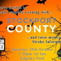 Spooky evening at Stockport County