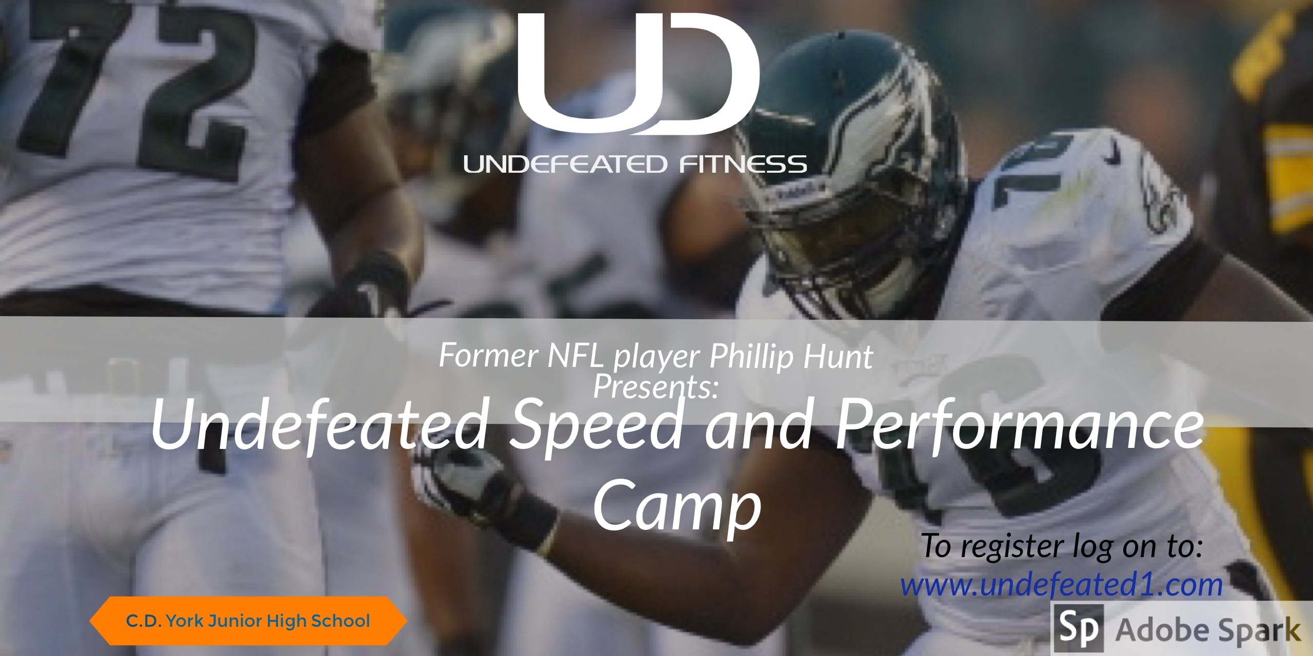 Undefeated Speed and Performance Camp for Incoming 5th-8th Graders
