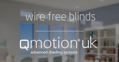 Wire Free Blinds With Qmotion Awe Smart Home Academy At Awe Europe