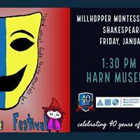 Millhopper Montessori Middle School 8th Shakespeare Fesival