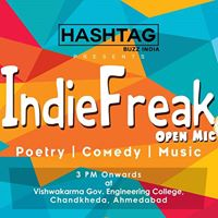 Indie Freak Open Mic - Chemo Confluence 2018  College Edition