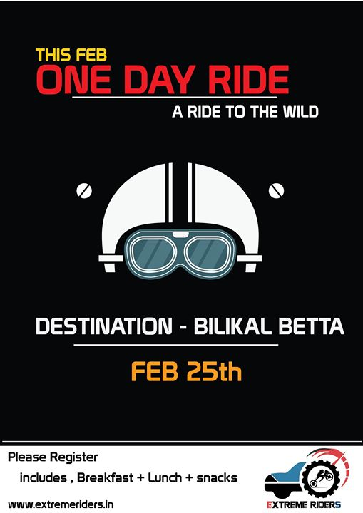 One Day Ride to Bilikal Betta