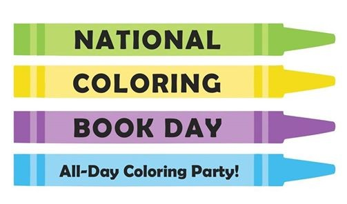 National Coloring Book Day At Layland Museum Of History Cleburne