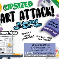 TFF Upsize - Art Attack