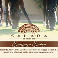Saturday Seminars at Sahara - Candid Questions with AHA Judges