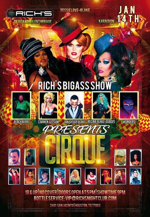 Richs BigAss Show Presents Cirque