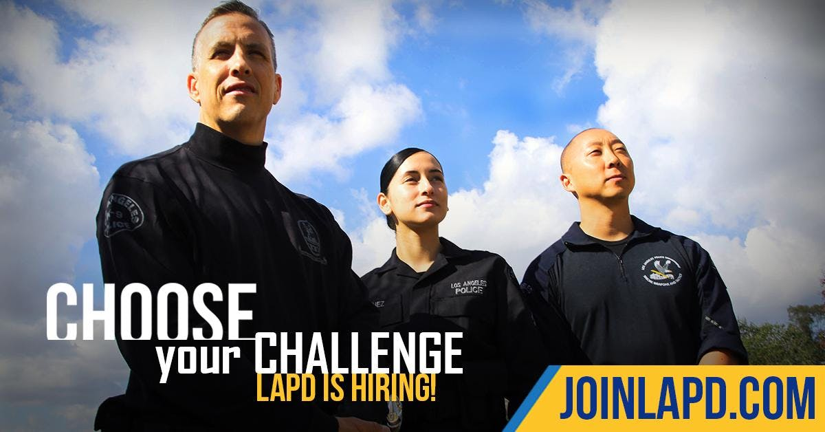 Los Angeles Police Department Hiring Expo
