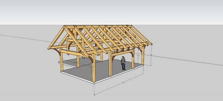 Build a Small Timber Frame House Workshop - Part 1 (June) at KVCC ...