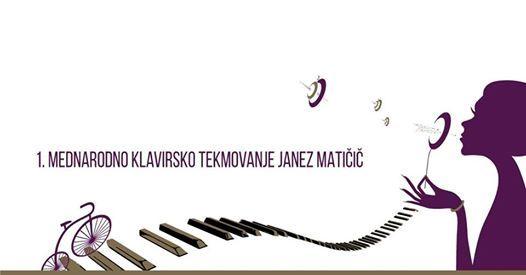 1. Mednarodno klavirsko tekmovanje Janez Matii 2018