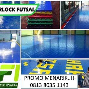 Jual Lantai Interlock Lapangan Futsal Call  0813 8035 1143