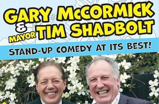 Gary McCormack & Sir Tim Shadbolt Live