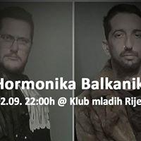 Hormonika Balkanika at Klub mladih Rijeka
