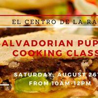 Salvadorian Pupusa Cooking Class at El Centro de la Raza