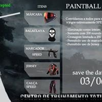 Paintball Speednrio no CTTR - Sbado