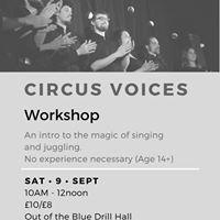 Circus Voices Workshop