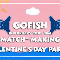 GO FISH Match-Making Valentines Day Party