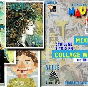 Mixed Media Abstract Collage Workshop (13 years -19 years)