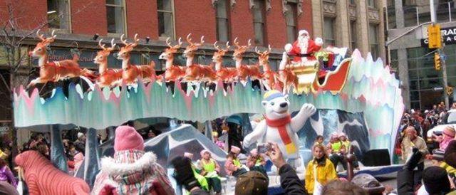 2018 Tillsonburg Santa Claus Parade- BAD Float