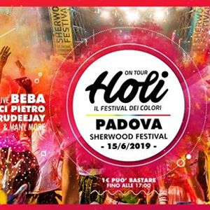 Holi a Sherwood - il Festival dei colori - Padova
