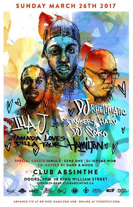 Canada Loves Dilla Tour Hamilton - Mar 26