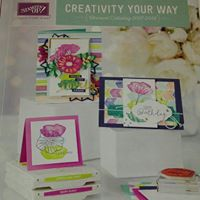 2017 Stampin Up New Catalog Launch Party
