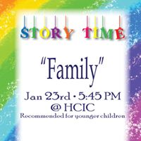 Monthly Story Time &quotFamily&quot