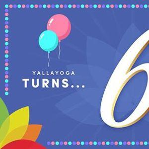 YallaYoga 6th Anniversary Party