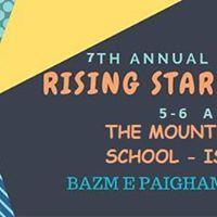 7th Annual Rising Stars Camp 2k17 Islamabad.