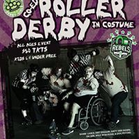 Circle CityRace City Coed Halloween Roller Derby Bout