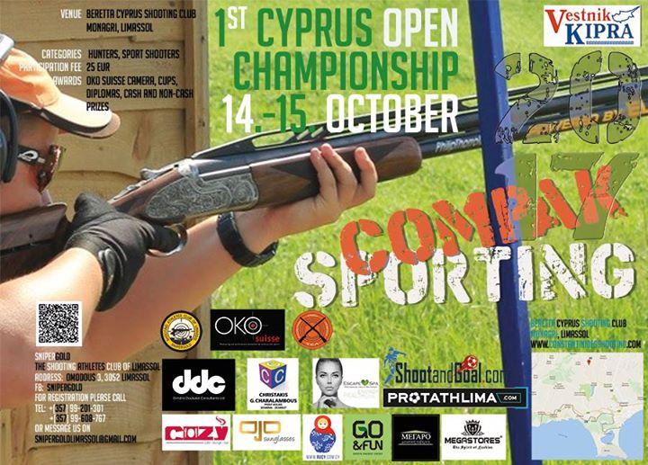 1st Cyprus Open Compak Sporting Championship