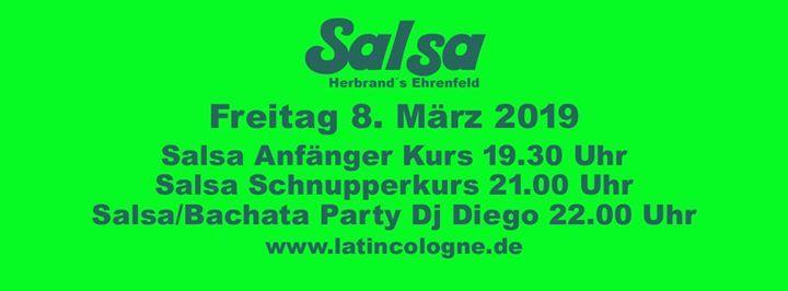 Salsa Herbrands - Freitag 8.3.2019 Dj Diego
