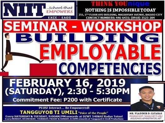 Building Employable Competencies Seminar