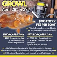 Grouper Growl Fishing Tournament