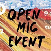 The Word Open Mic at Qusqo Peruvian