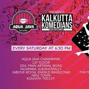 Aqua Java Chinar Park presents Kalkutta Komedians Open Mic